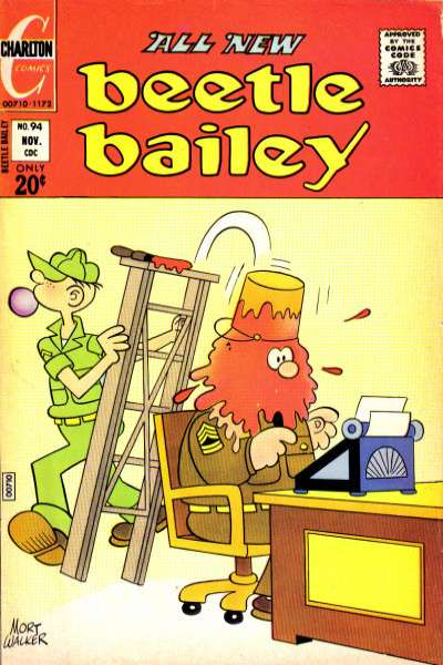 Beetle Bailey #94 comic books for sale