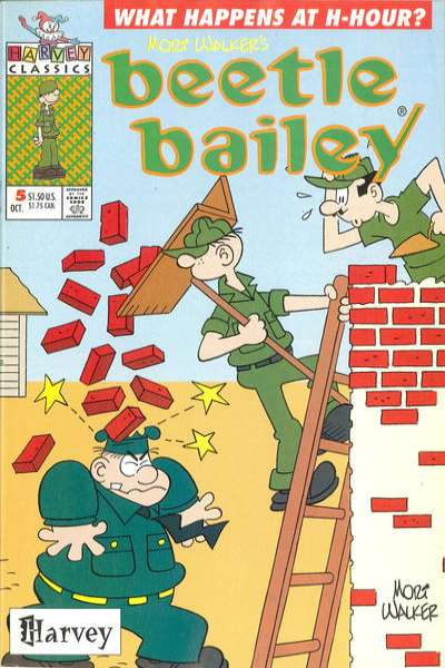 Beetle Bailey #5 Comic Books - Covers, Scans, Photos  in Beetle Bailey Comic Books - Covers, Scans, Gallery