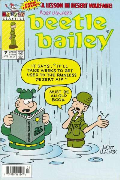 Beetle Bailey #7 Comic Books - Covers, Scans, Photos  in Beetle Bailey Comic Books - Covers, Scans, Gallery
