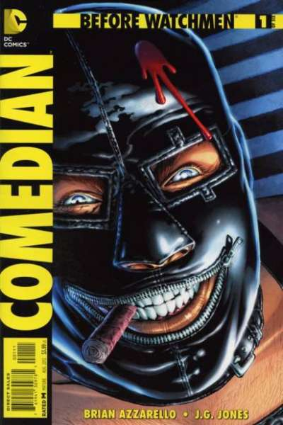 Before Watchmen: Comedian #1 comic books - cover scans photos Before Watchmen: Comedian #1 comic books - covers, picture gallery
