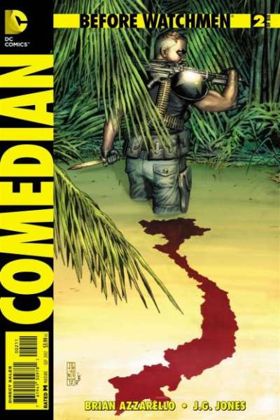Before Watchmen: Comedian #2 comic books - cover scans photos Before Watchmen: Comedian #2 comic books - covers, picture gallery