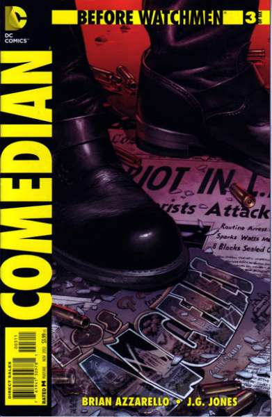 Before Watchmen: Comedian #3 Comic Books - Covers, Scans, Photos  in Before Watchmen: Comedian Comic Books - Covers, Scans, Gallery