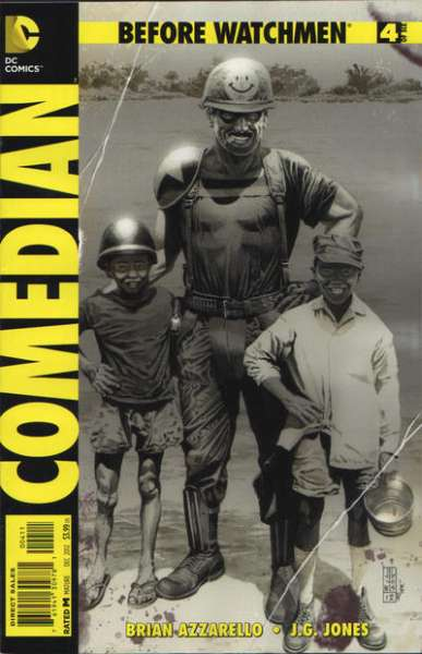 Before Watchmen: Comedian #4 Comic Books - Covers, Scans, Photos  in Before Watchmen: Comedian Comic Books - Covers, Scans, Gallery