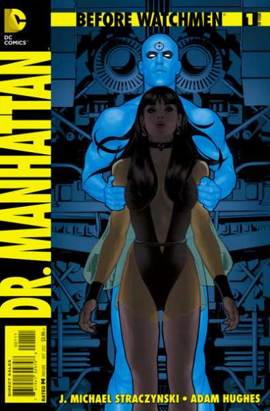 Before Watchmen: Dr. Manhattan comic books