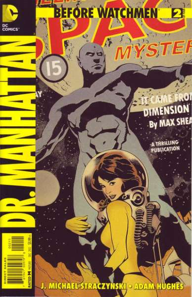 Before Watchmen: Dr. Manhattan #2 Comic Books - Covers, Scans, Photos  in Before Watchmen: Dr. Manhattan Comic Books - Covers, Scans, Gallery