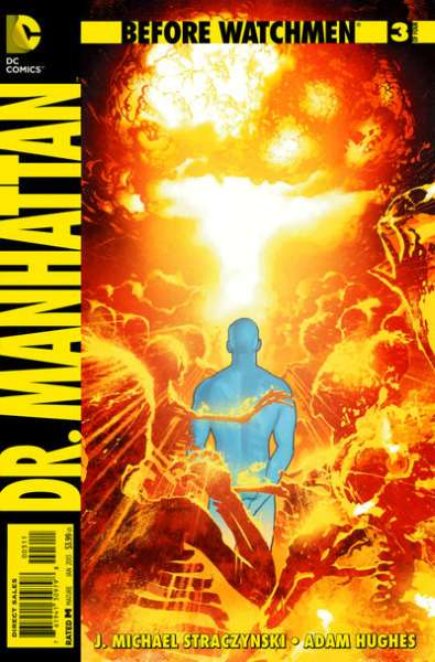 Before Watchmen: Dr. Manhattan #3 comic books - cover scans photos Before Watchmen: Dr. Manhattan #3 comic books - covers, picture gallery