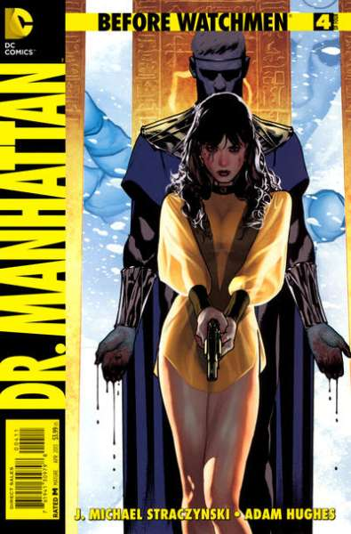 Before Watchmen: Dr. Manhattan #4 Comic Books - Covers, Scans, Photos  in Before Watchmen: Dr. Manhattan Comic Books - Covers, Scans, Gallery