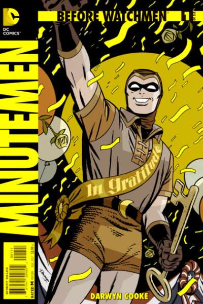 Before Watchmen: Minutemen comic books