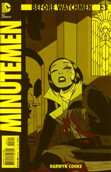 Before Watchmen: Minutemen #3 Comic Books - Covers, Scans, Photos  in Before Watchmen: Minutemen Comic Books - Covers, Scans, Gallery