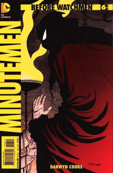 Before Watchmen: Minutemen #6 comic books - cover scans photos Before Watchmen: Minutemen #6 comic books - covers, picture gallery