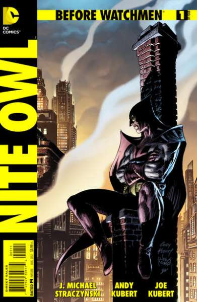 Before Watchmen: Nite Owl comic books