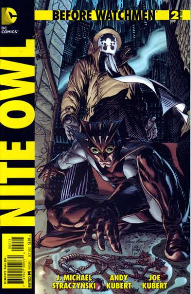 Before Watchmen: Nite Owl #2 Comic Books - Covers, Scans, Photos  in Before Watchmen: Nite Owl Comic Books - Covers, Scans, Gallery