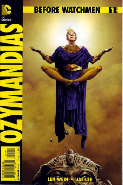 Before Watchmen: Ozymanidias #1 comic books - cover scans photos Before Watchmen: Ozymanidias #1 comic books - covers, picture gallery