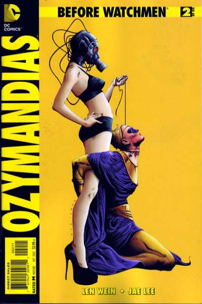 Before Watchmen: Ozymanidias #2 Comic Books - Covers, Scans, Photos  in Before Watchmen: Ozymanidias Comic Books - Covers, Scans, Gallery