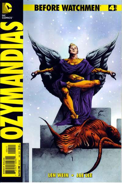 Before Watchmen: Ozymanidias #4 comic books for sale