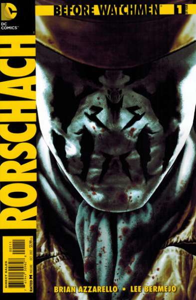 Before Watchmen: Rorschach comic books