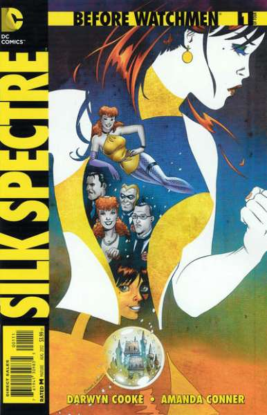 Before Watchmen: Silk Spectre comic books