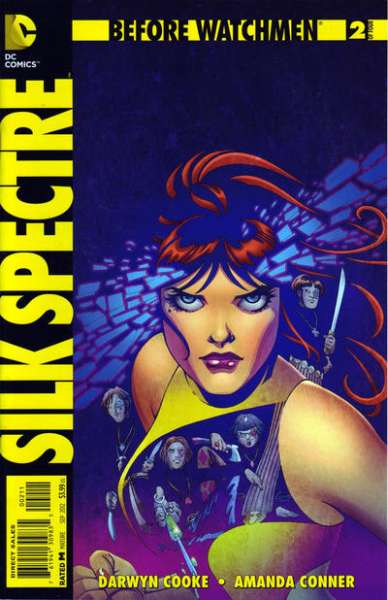 Before Watchmen: Silk Spectre #2 Comic Books - Covers, Scans, Photos  in Before Watchmen: Silk Spectre Comic Books - Covers, Scans, Gallery