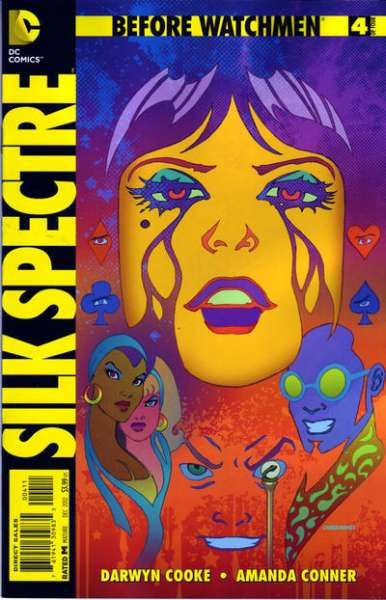 Before Watchmen: Silk Spectre #4 Comic Books - Covers, Scans, Photos  in Before Watchmen: Silk Spectre Comic Books - Covers, Scans, Gallery