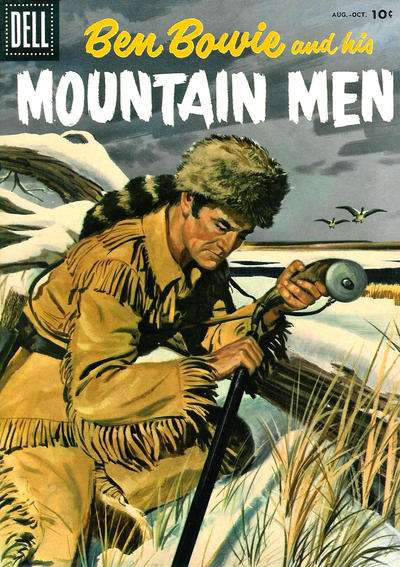 Ben Bowie and his Mountain Men #8 comic books for sale