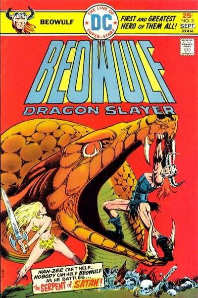 Beowulf #3 comic books for sale