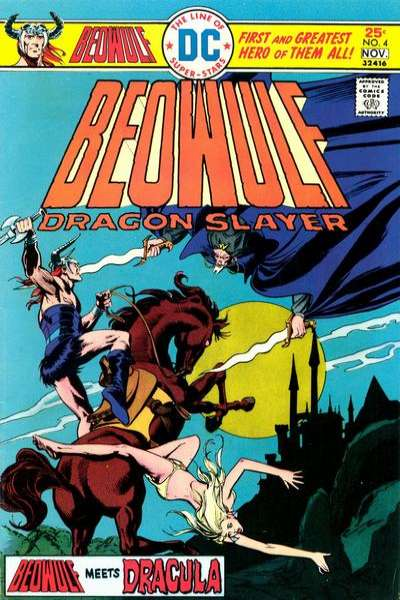 Beowulf #4 comic books for sale
