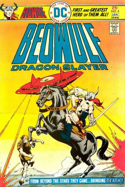 Beowulf #5 comic books for sale