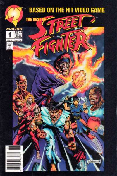 Best of Street Fighter comic books