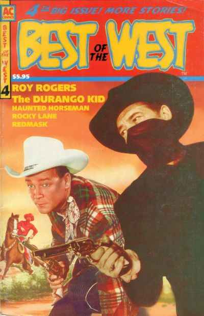Best of the West #4 Comic Books - Covers, Scans, Photos  in Best of the West Comic Books - Covers, Scans, Gallery