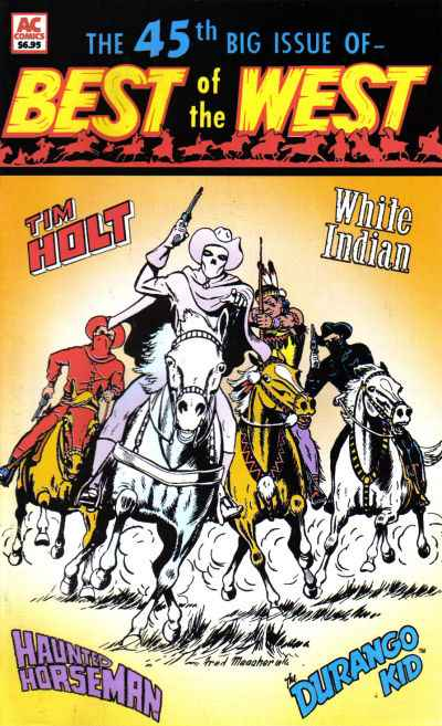 Best of the West #45 Comic Books - Covers, Scans, Photos  in Best of the West Comic Books - Covers, Scans, Gallery