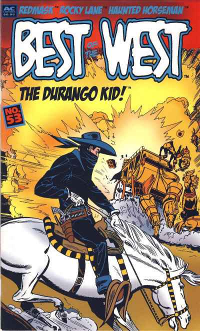 Best of the West #53 Comic Books - Covers, Scans, Photos  in Best of the West Comic Books - Covers, Scans, Gallery
