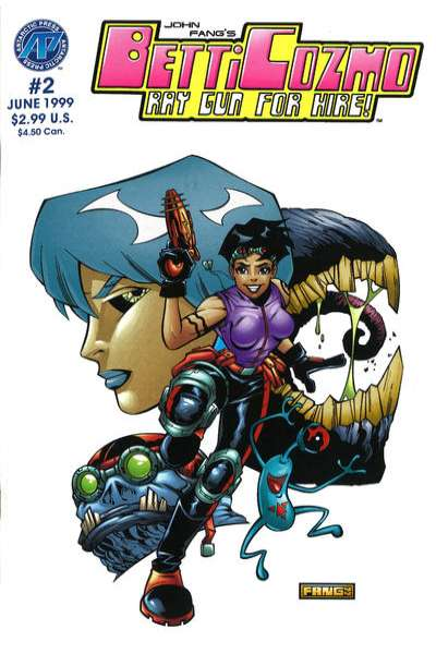 Betti Cozmo #2 comic books for sale