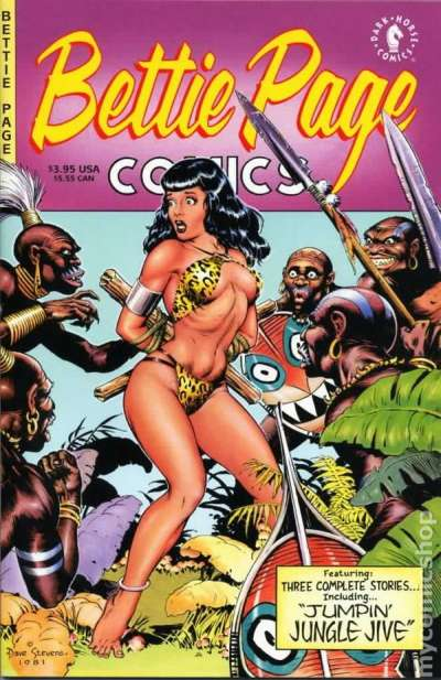 Bettie Page Comics #1 Comic Books - Covers, Scans, Photos  in Bettie Page Comics Comic Books - Covers, Scans, Gallery