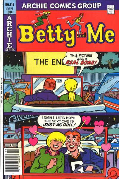 Betty and Me #116 comic books for sale