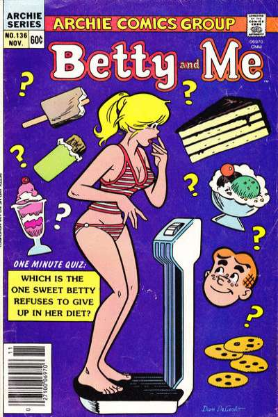Betty and Me #136 Comic Books - Covers, Scans, Photos  in Betty and Me Comic Books - Covers, Scans, Gallery