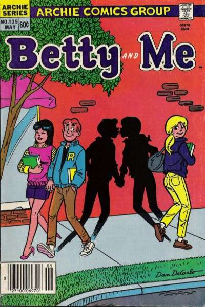 Betty and Me #139 Comic Books - Covers, Scans, Photos  in Betty and Me Comic Books - Covers, Scans, Gallery