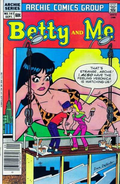 Betty and Me #141 Comic Books - Covers, Scans, Photos  in Betty and Me Comic Books - Covers, Scans, Gallery
