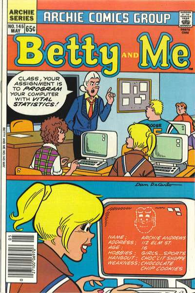 Betty and Me #145 comic books for sale
