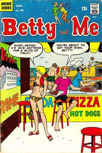 Betty and Me #15 Comic Books - Covers, Scans, Photos  in Betty and Me Comic Books - Covers, Scans, Gallery