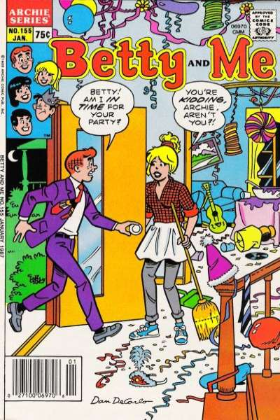 Betty and Me #155 comic books for sale