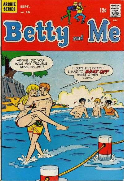 Betty and Me #16 Comic Books - Covers, Scans, Photos  in Betty and Me Comic Books - Covers, Scans, Gallery