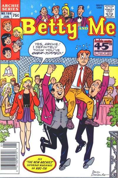 Betty and Me #164 comic books for sale