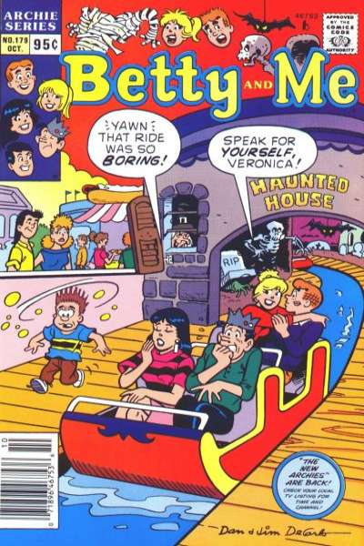 Betty and Me #179 Comic Books - Covers, Scans, Photos  in Betty and Me Comic Books - Covers, Scans, Gallery