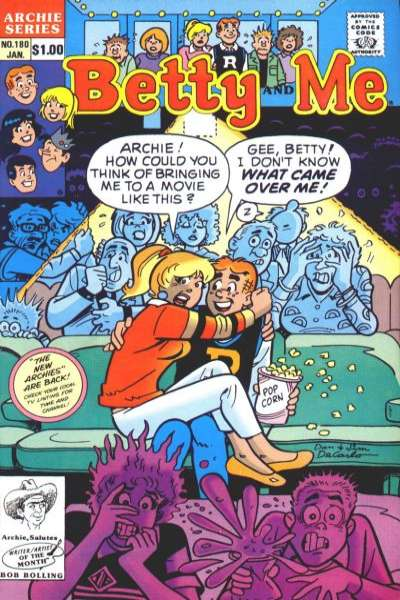 Betty and Me #180 Comic Books - Covers, Scans, Photos  in Betty and Me Comic Books - Covers, Scans, Gallery