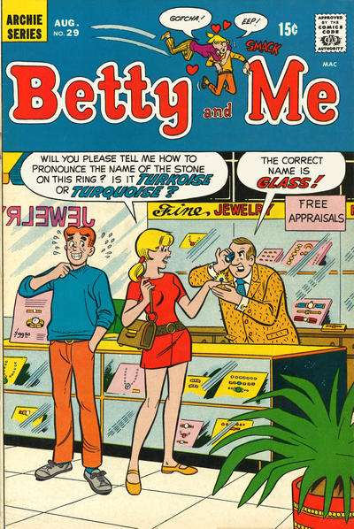 Betty and Me #29 comic books for sale
