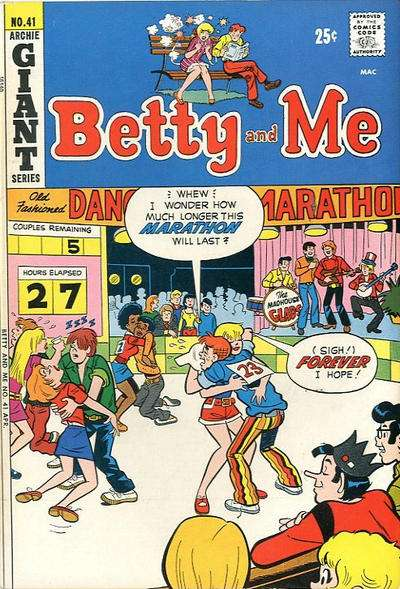 Betty and Me #41 Comic Books - Covers, Scans, Photos  in Betty and Me Comic Books - Covers, Scans, Gallery