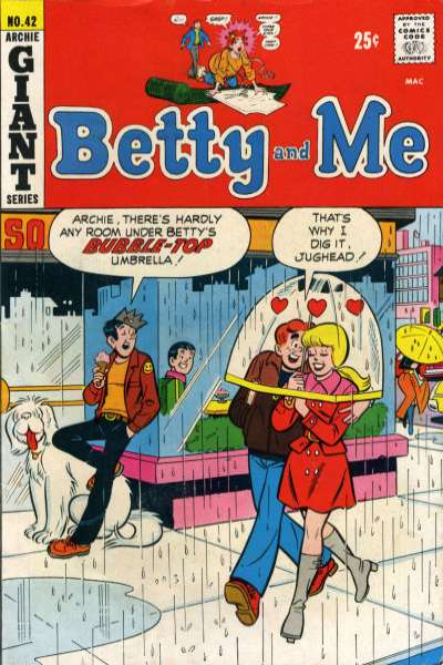 Betty and Me #42 Comic Books - Covers, Scans, Photos  in Betty and Me Comic Books - Covers, Scans, Gallery