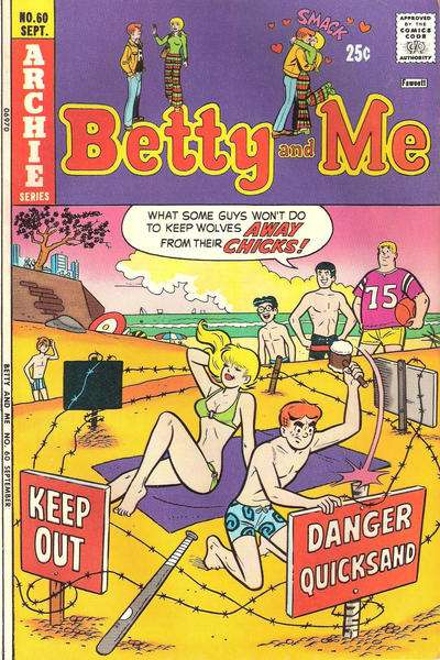 Betty and Me #60 Comic Books - Covers, Scans, Photos  in Betty and Me Comic Books - Covers, Scans, Gallery