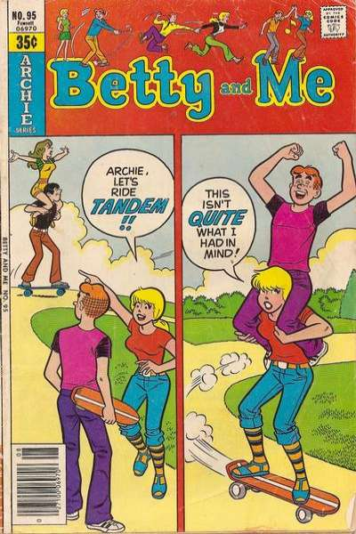 Betty and Me #95 comic books for sale