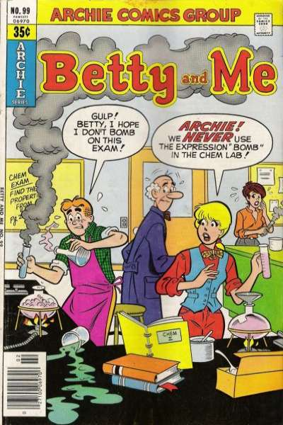 Betty and Me #99 Comic Books - Covers, Scans, Photos  in Betty and Me Comic Books - Covers, Scans, Gallery